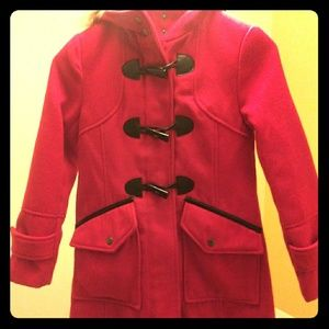 Red Roth Child girls Peacoat